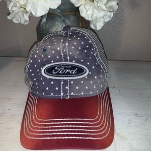 Ford American and rhinestones women's hat